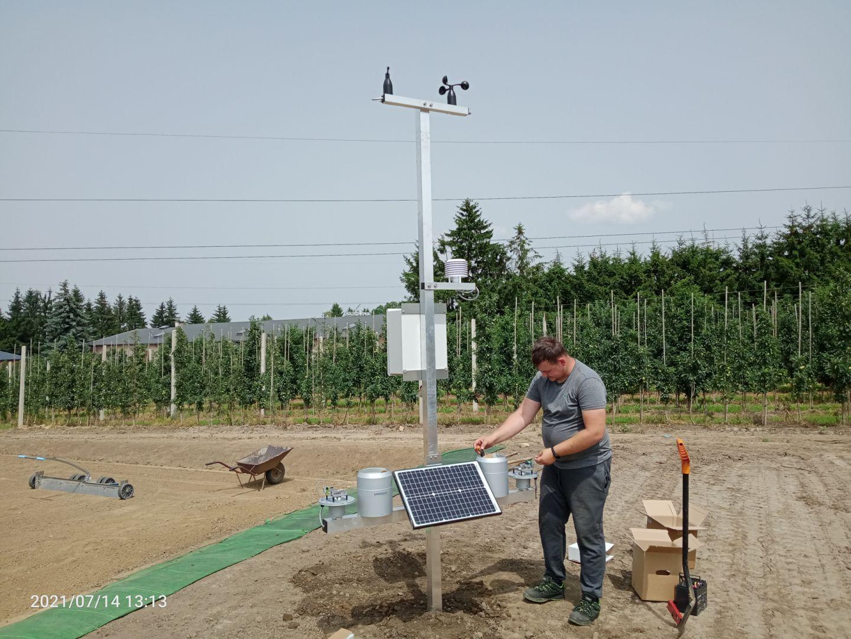 Pierwsze stacje meteorologiczne w ramach projektu eDWIN już na Podkarpaciu