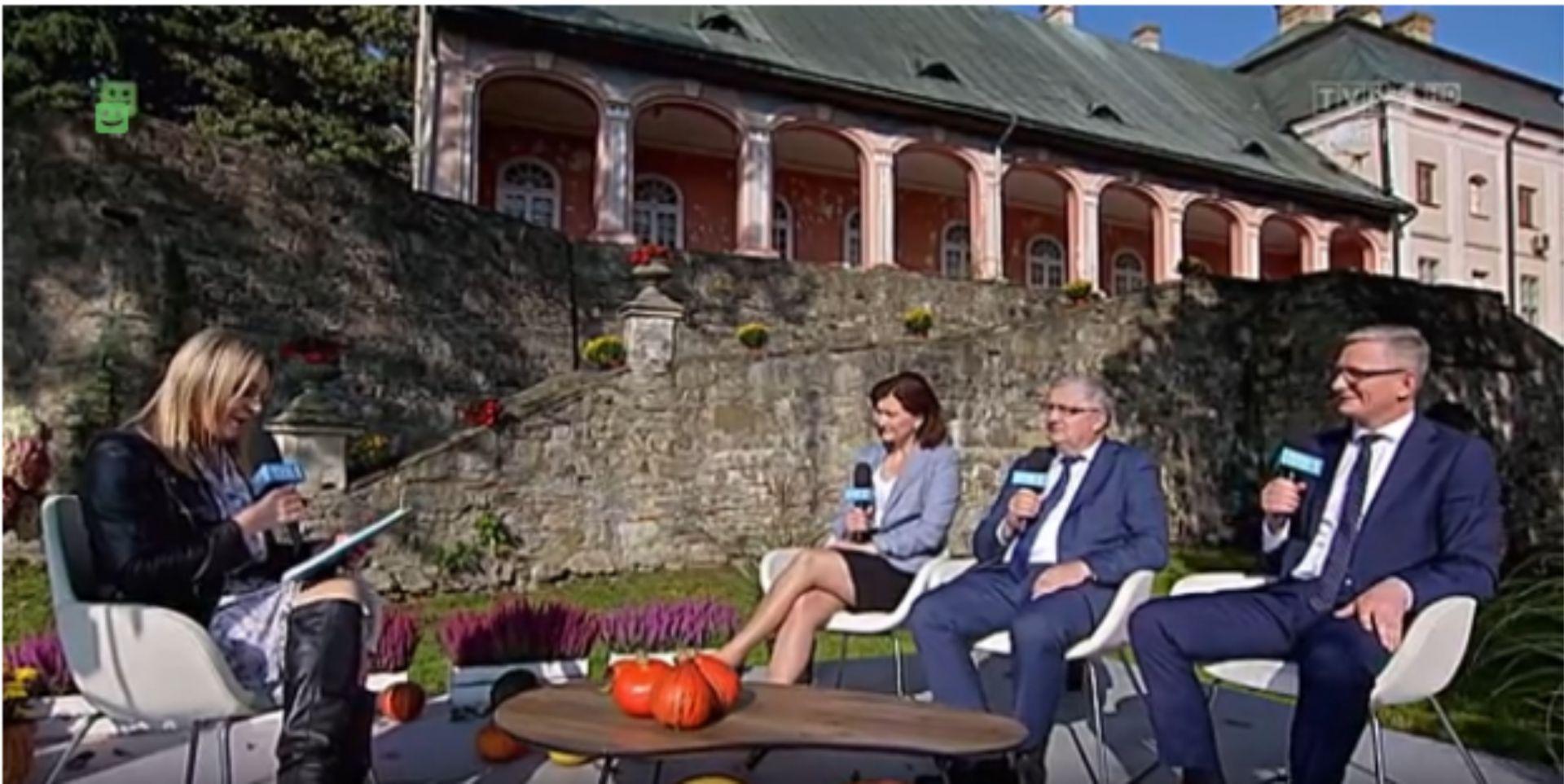 XVI Jesienna Giełda Ogrodnicza w obiektywie Telewizji Polskiej
