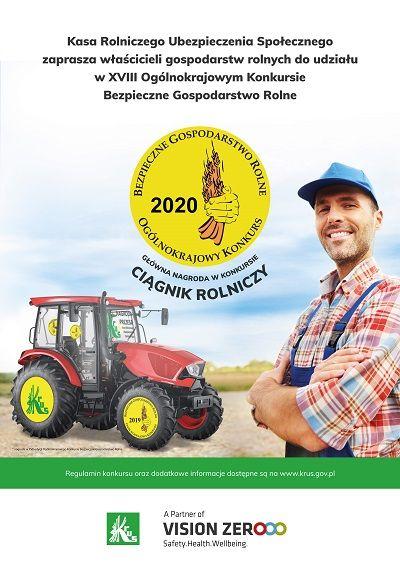 XVIII Ogólnokrajowy Konkurs Bezpieczne Gospodarstwo Rolne
